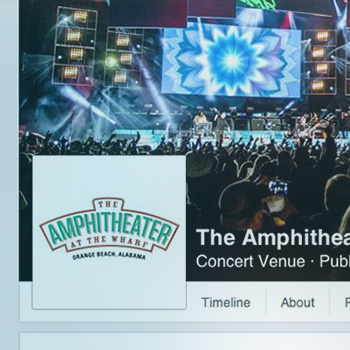 Amphitheater at the Wharf - Custom Facebook Page