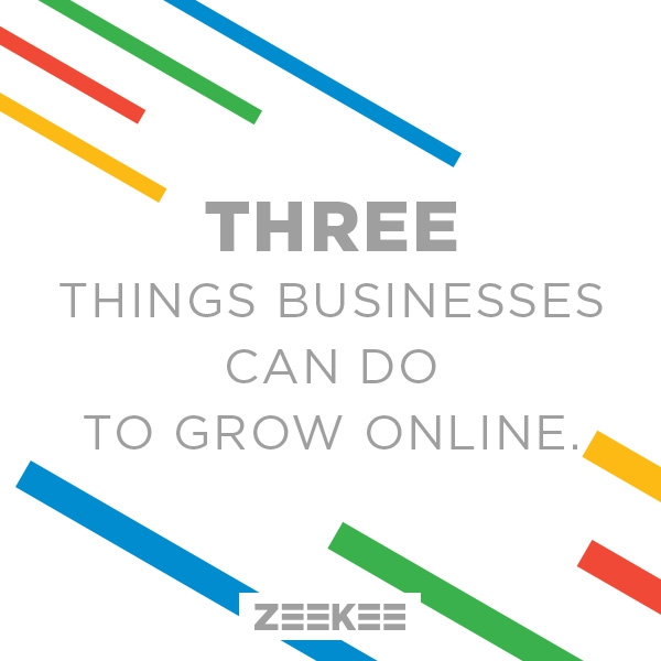 3 Easy Things to Grow Your Online Presence