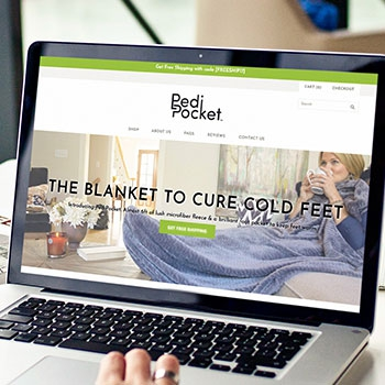 Pedi Pocket Blanket
