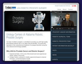 Urology Centers of Alabama Prostate Website